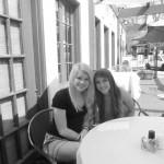 Maddie and I